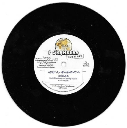 Nish Wadada - Africa / Matic Horns Meets Delmighty Sounds - Jah Version (I-Skankers Dub Plate) UK 7""